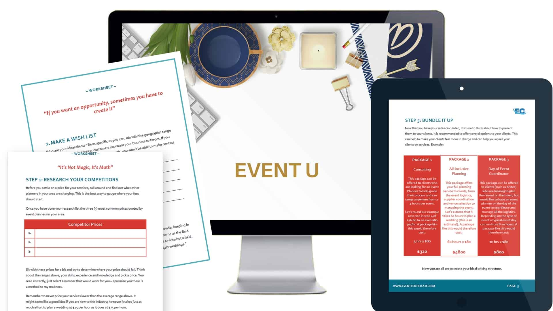 learn how to be a successful event planner