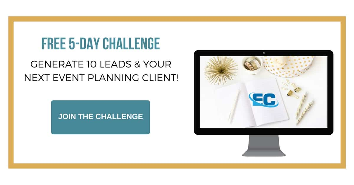 Join the 5-Day Event Client Challenge