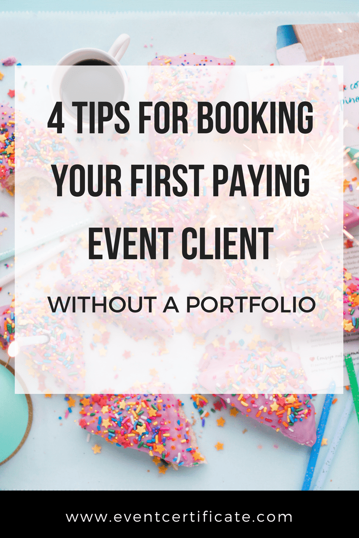 4 Tips for Booking Clients without a Portfolio