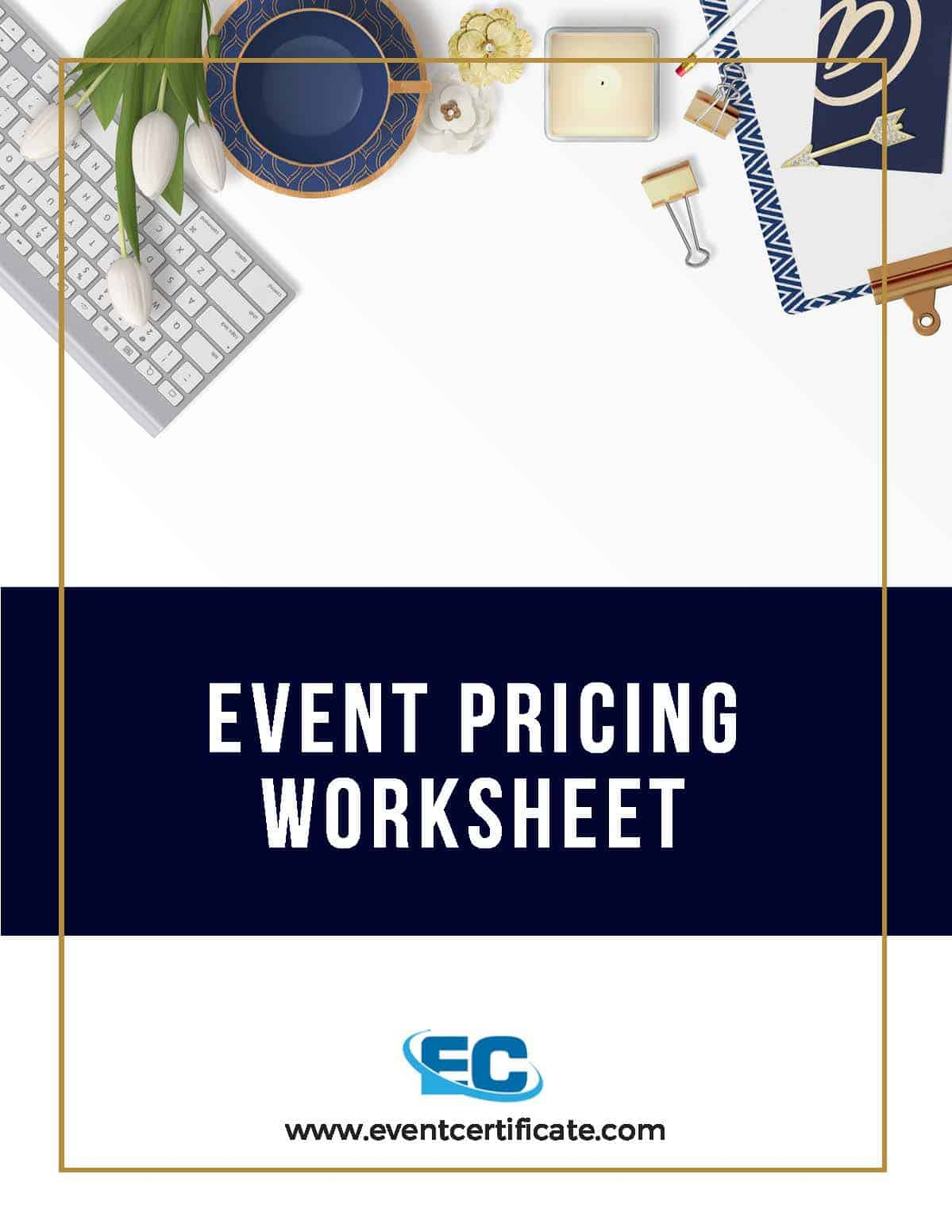 Pricing your event planning service