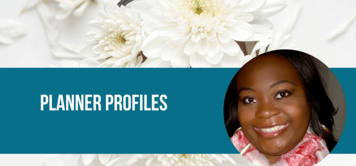 Planner Profiles: Keosha Joyce