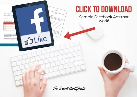 facebook ads cheatsheet download